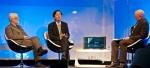 ASUS la CeBIT 2010: Jonney Shih si David Lewis vorbesc pe scena despre notebookul ASUS NX90