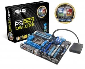 Placa de baza ASUS P8P67 Deluxe cu Dual Intelligent Processors 2 cu Digi+ VRM