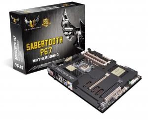 Placa de baza ASUS SABERTOOTH P67 cu design Tactical Vest