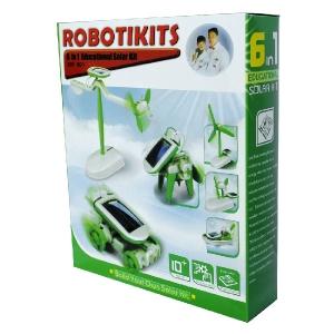 Jucarie Robot Solar - Kit Educational 6 in 1