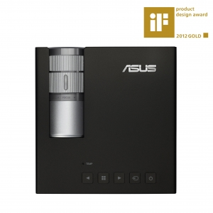 Proiectorul portabil ASUS P1 LED premiat iF Design Gold 2012