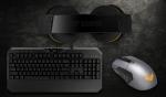 Mouseul TUF Gaming M5, tastatura TUF Gaming K5 și căștile TUF Gaming H5