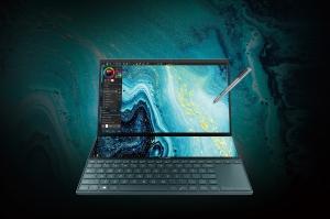 ASUS ZenBook Duo UX481 cu ecran principal tactil