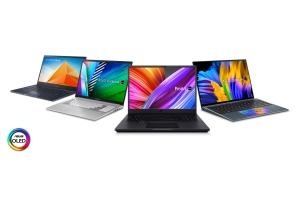 Portofoliul de laptopuri ASUS OLED